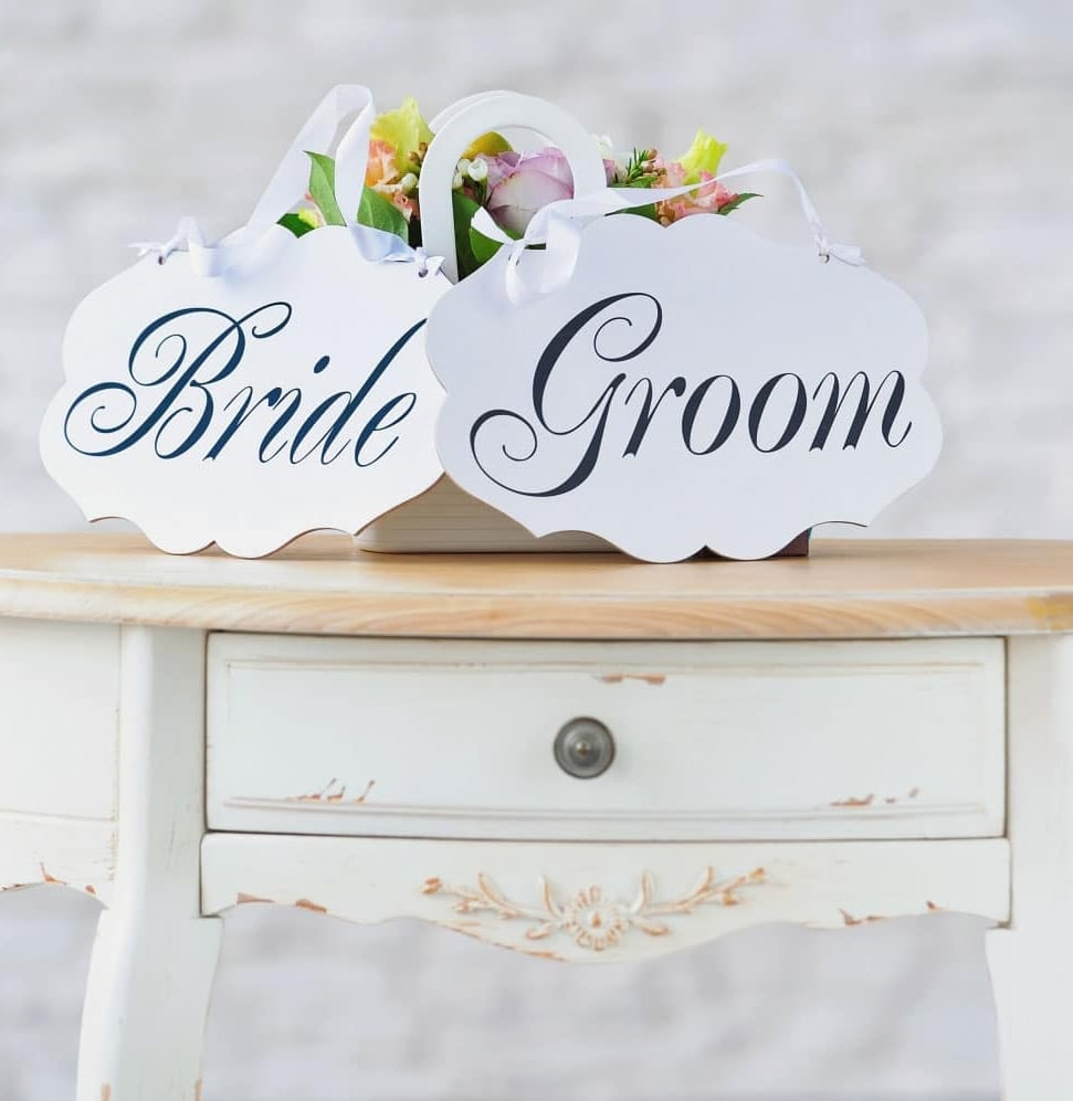 bridge groom table